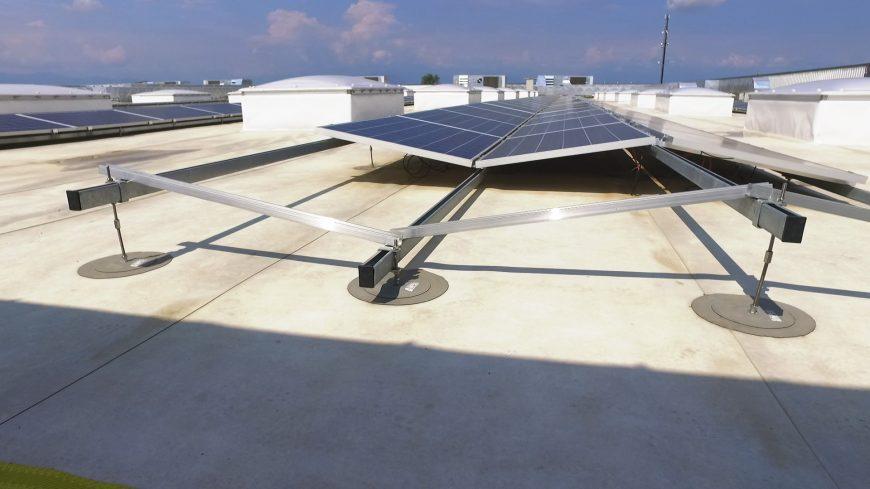 Struttura di sostegno fotovoltaico